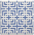rug #1222043 | square blue check rug