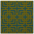 rug #1222071 | square green rug