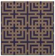 rug #1222099   square beige check rug