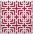 rug #1222111 | square red check rug