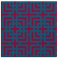 rug #1222116 | square check rug