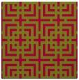 rug #1222118 | square check rug