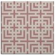 rug #1222119 | square pink check rug