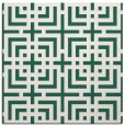 rug #1222131 | square green rug