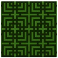 rug #1222139 | square light-green check rug
