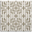 rug #1222159 | square mid-brown check rug