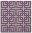rug #1222183 | square purple check rug