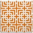 rug #1222211 | square orange check rug