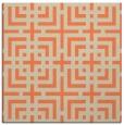 rug #1222215 | square beige check rug