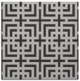 rug #1222219   square red-orange check rug