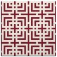 rug #1222227 | square pink check rug
