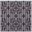 rug #1222251 | square purple check rug