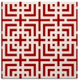 rug #1222255 | square red check rug