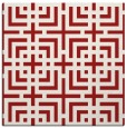 rug #1222263 | square red check rug