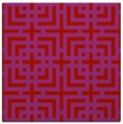 rug #1222267 | square red check rug