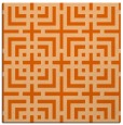 rug #1222275 | square red-orange check rug