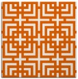 rug #1222283 | square red-orange check rug