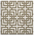 rug #1222311 | square white geometry rug