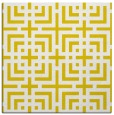 rug #1222323 | square yellow check rug
