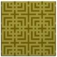 rug #1222335 | square light-green check rug