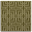 rug #1222347 | square light-green check rug