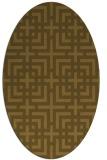 rug #1222386 | oval check rug