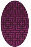 rug #1222446   oval check rug