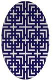 rug #1222465   oval check rug