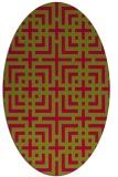 rug #1222486   oval check rug