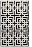 rug #1222735 |  black geometry rug