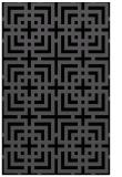 rug #1222739 |  black check rug