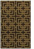 rug #1222751 |  mid-brown check rug