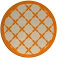 rug #122277 | round beige geometry rug