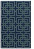rug #1222771 |  blue check rug