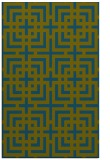 rug #1222807 |  blue-green check rug