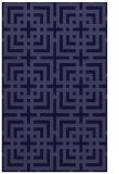 rug #1222815 |  blue-violet check rug