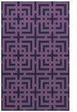 rug #1222827 |  purple check rug