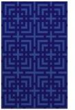 rug #1222831 |  blue-violet check rug