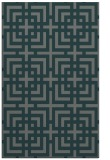 rug #1222863 |  blue-green check rug