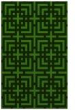 rug #1222875 |  light-green check rug