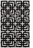 rug #1222879 |  black geometry rug