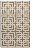 rug #1222891 |  beige check rug