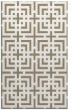 rug #1222895 |  mid-brown check rug