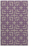rug #1222919 |  purple check rug