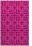 rug #1222959 |  pink check rug