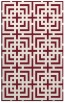 rug #1222963 |  pink check rug