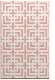 rug #1222971 |  pink check rug