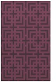 rug #1222975 |  purple check rug