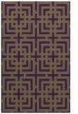 rug #1222983 |  mid-brown check rug