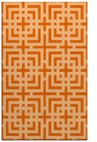 rug #1223011 |  red-orange check rug